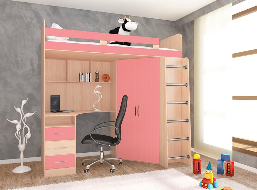 Кровать-чердак Стелла 1