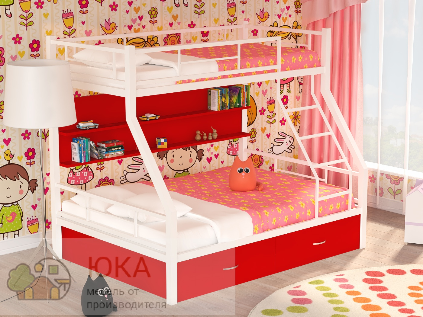 Двухъярусная кровать Гранада ПЯ