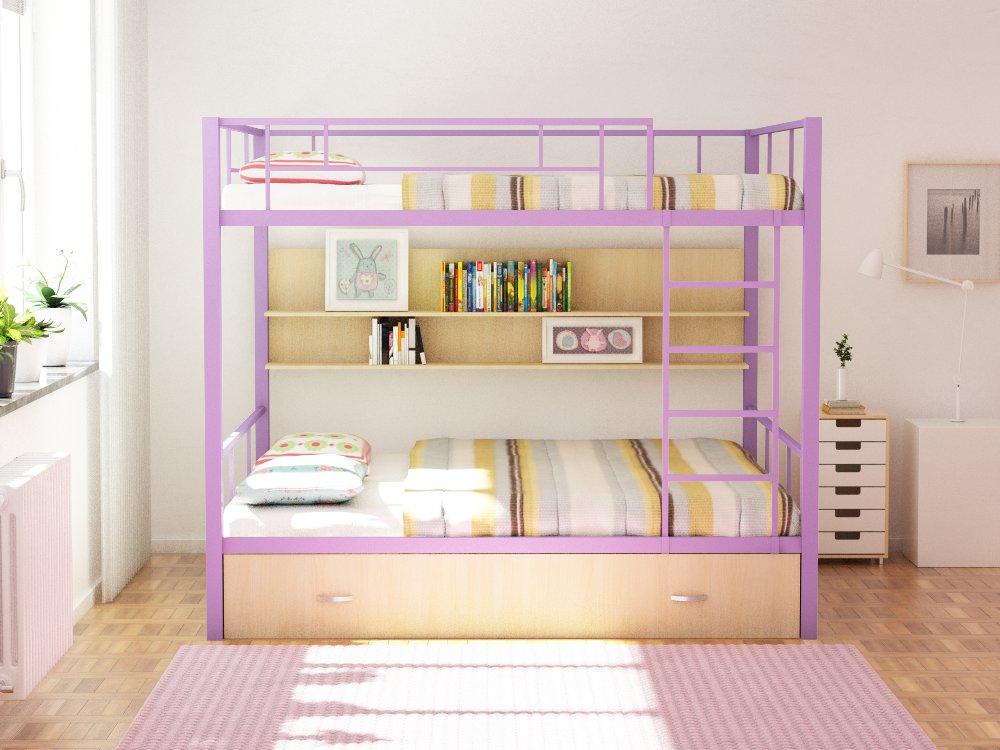 Двухъярусная кровать Валенсия ПЯ