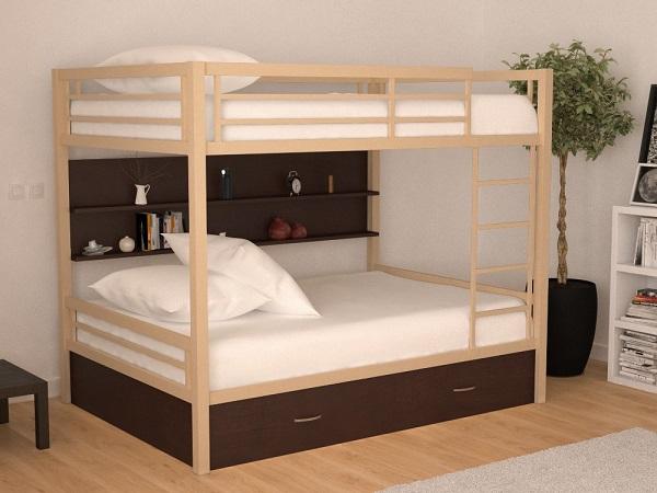 Двухъярусная кровать Олимп 4