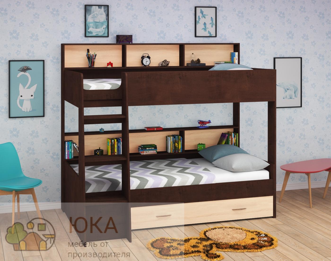 Двухъярусная кровать Юната