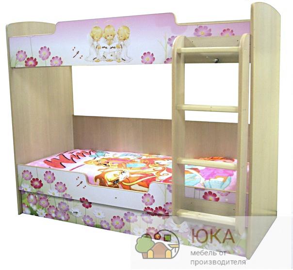 кровать двухъярусная Тедди