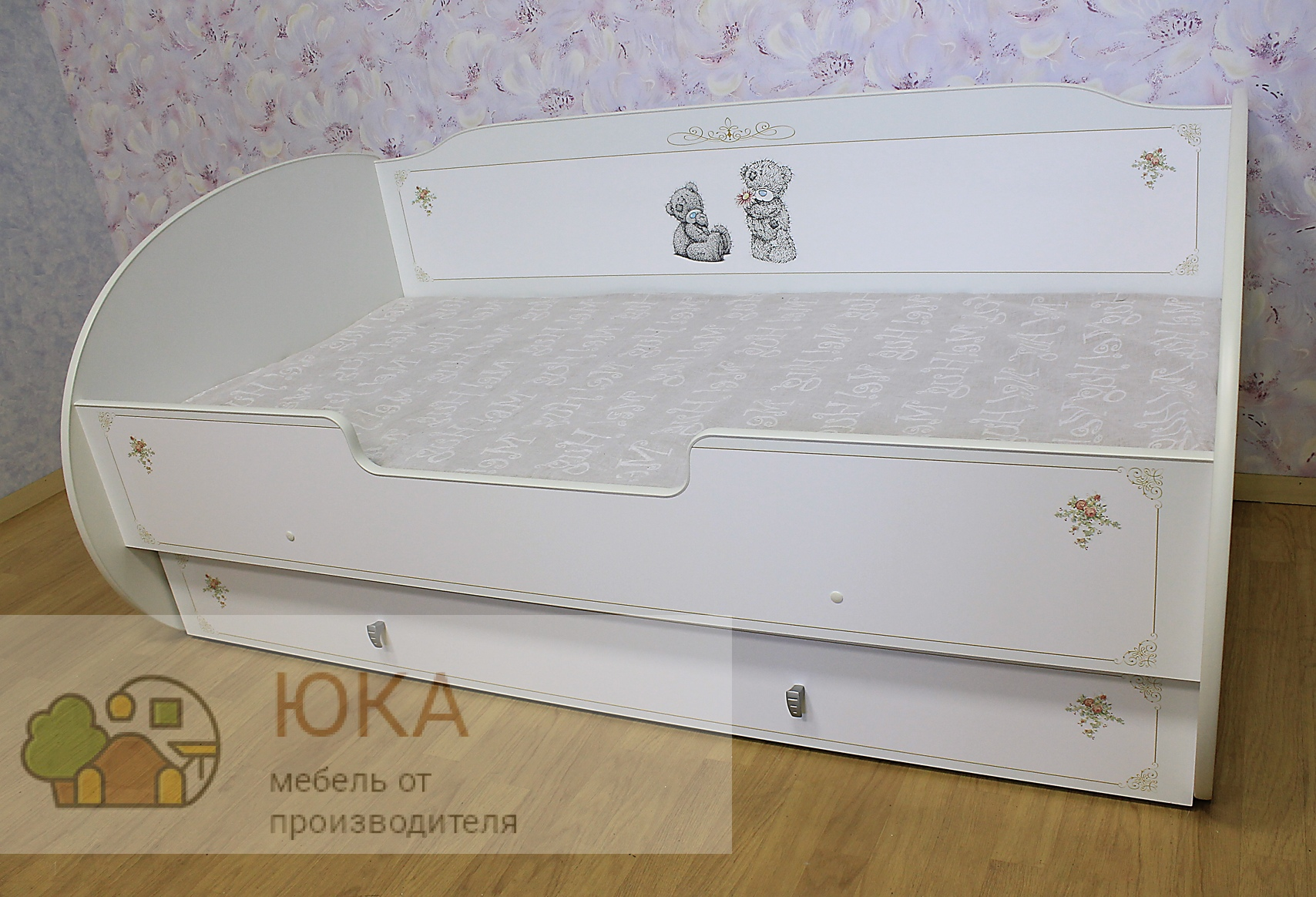 Кровать одноярусная Машенька