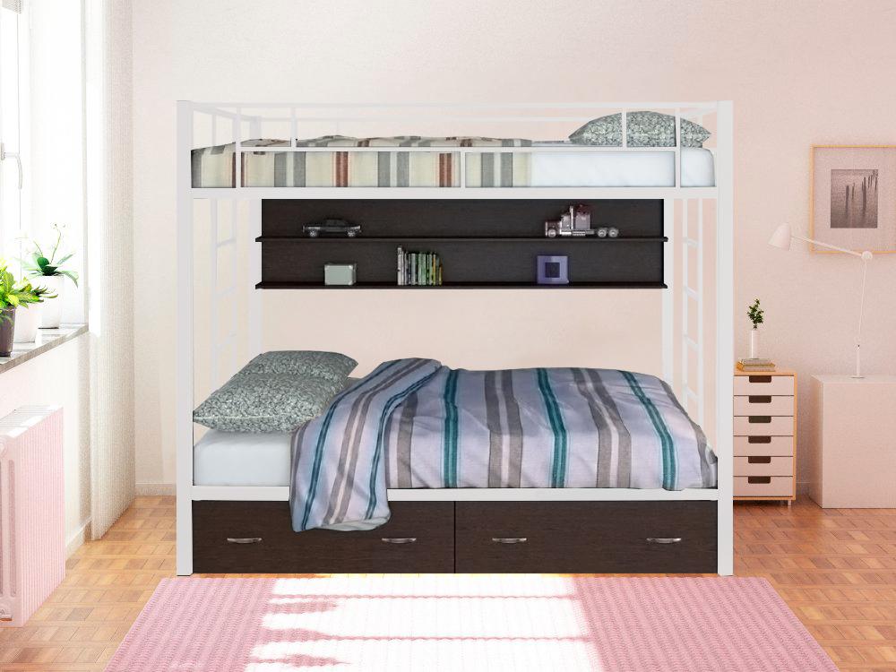 Двухъярусная кровать Вега ПЯ