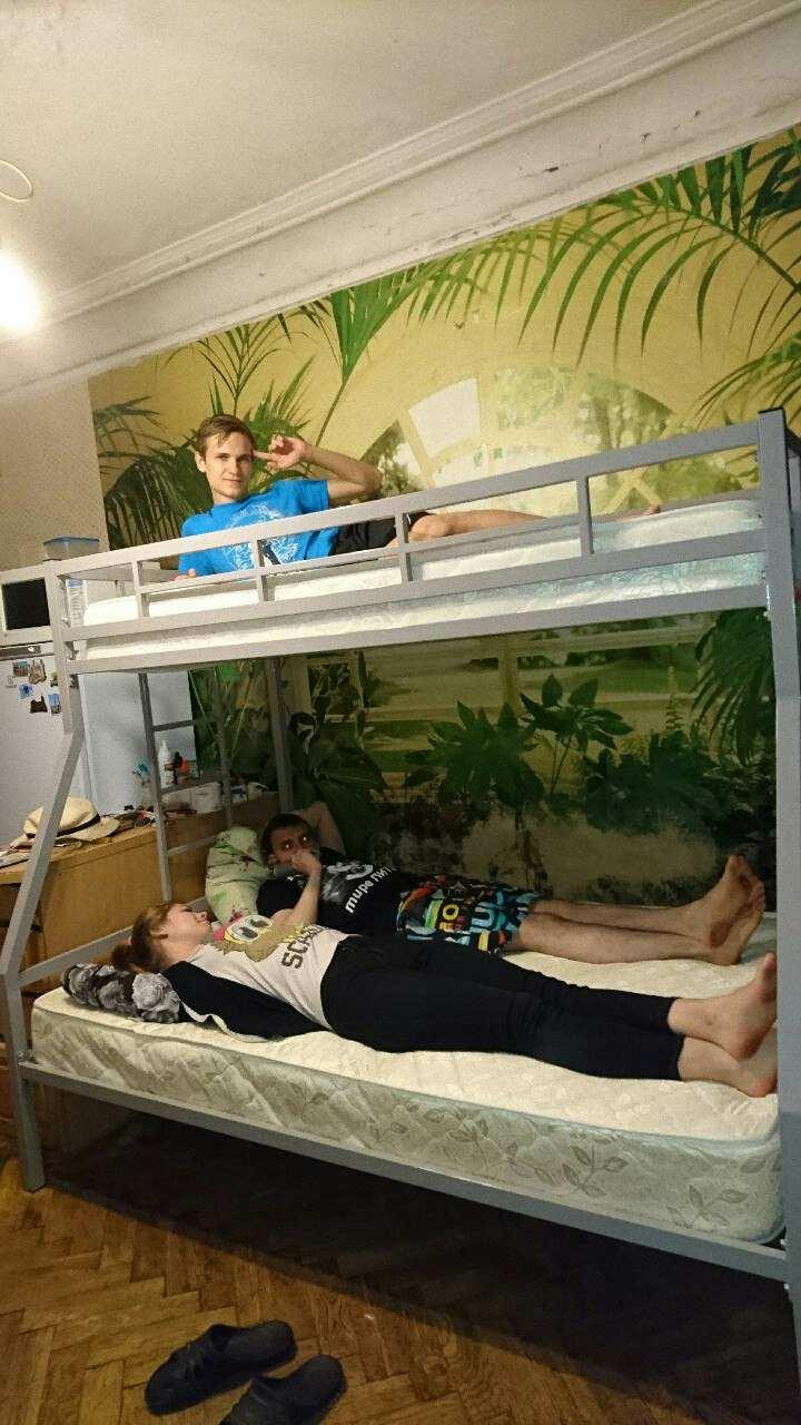 Двухъярусная кровать Олимп 1